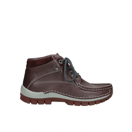 wolky boots 4728 cross winter 254 bordeaux grau leder