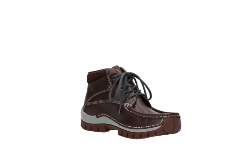 wolky boots 4728 cross winter 254 bordeaux grau leder_16