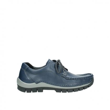 wolky boots 4732 kick winter 281 kobalt blau leder