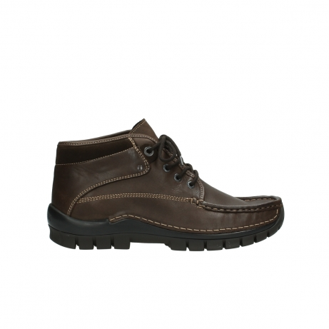 wolky boots 4751 cross herren 230 braun leder