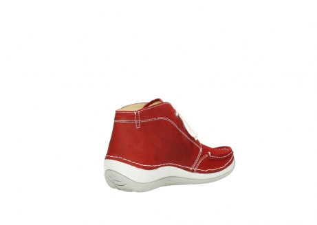 wolky veterboots 4803 olympia 157 rood zomer nubuck_10