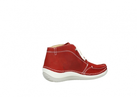 wolky veterboots 4803 olympia 157 rood zomer nubuck_11