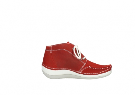 wolky veterboots 4803 olympia 157 rood zomer nubuck_13
