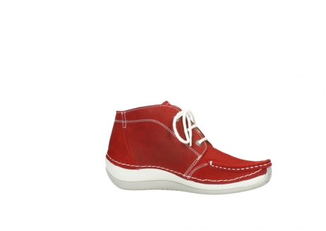 wolky veterboots 4803 olympia 157 rood zomer nubuck_14