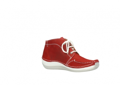 wolky veterboots 4803 olympia 157 rood zomer nubuck_15