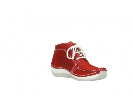 wolky veterboots 4803 olympia 157 rood zomer nubuck_16