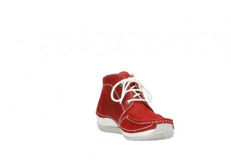 wolky veterboots 4803 olympia 157 rood zomer nubuck_17