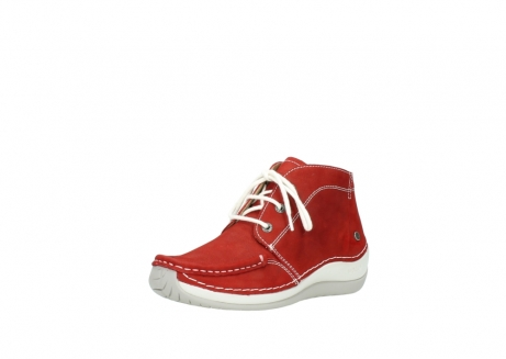 wolky veterboots 4803 olympia 157 rood zomer nubuck_22