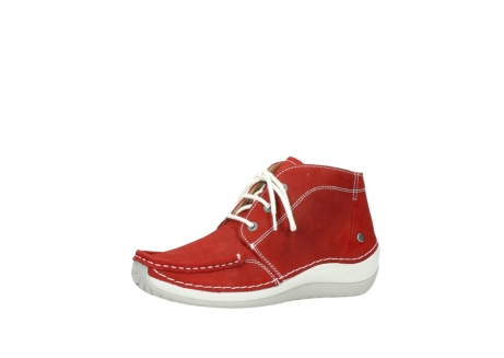wolky veterboots 4803 olympia 157 rood zomer nubuck_23