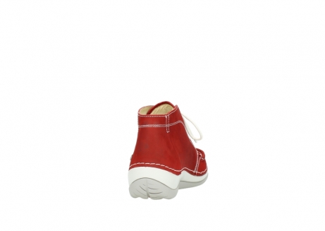 wolky veterboots 4803 olympia 157 rood zomer nubuck_8