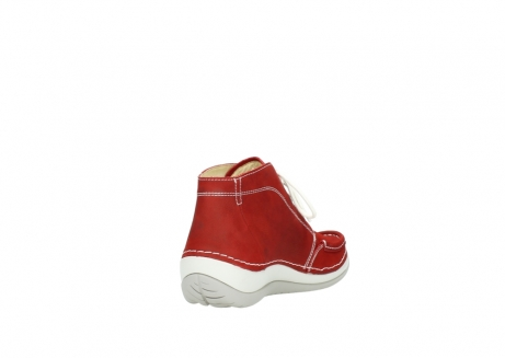 wolky veterboots 4803 olympia 157 rood zomer nubuck_9