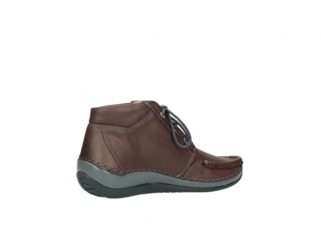 wolky boots 4826 sensation 162 bordeaux metallic leder meliert_11