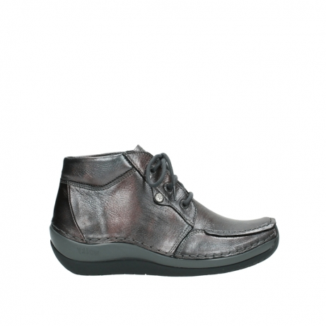 wolky boots 4826 sensation 921 anthrazit metallic leder