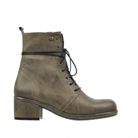 wolky boots 6029 drancy 815 taupe leder