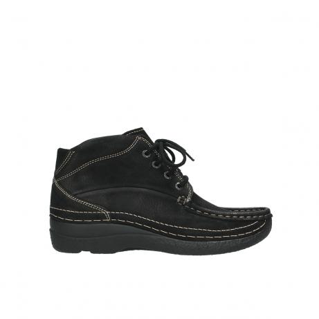wolky boots 6242 roll shoot 900 schwarz nubuk
