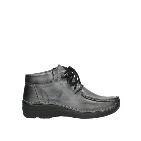 wolky veterboots 6253 seamy moc 321 antraciet leer