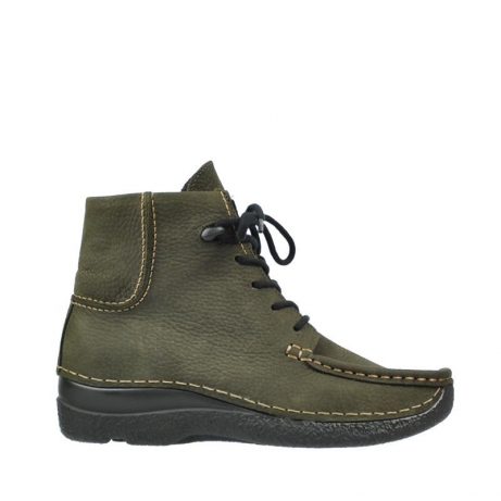 wolky boots 6284 seamy shoot 173 forest grun nubukleder