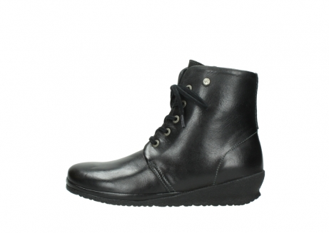 wolky boots 7252 madera 500 schwarz geoltes leder_1