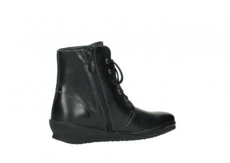 wolky boots 7252 madera 500 schwarz geoltes leder_11