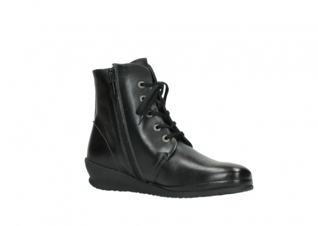 wolky boots 7252 madera 500 schwarz geoltes leder_15