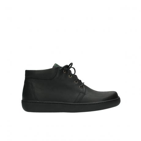 wolky boots 8100 kansas 500 schwarz leder