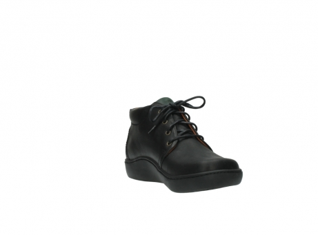 wolky boots 8100 kansas 500 schwarz leder_17