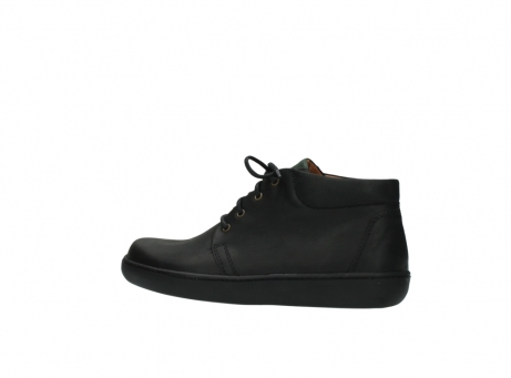 wolky boots 8100 kansas 500 schwarz leder_2