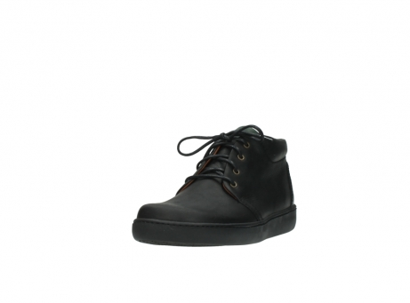 wolky boots 8100 kansas 500 schwarz leder_21