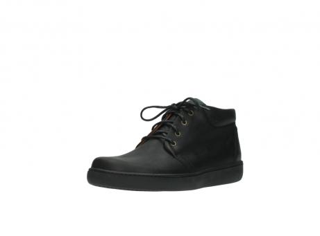 wolky boots 8100 kansas 500 schwarz leder_22