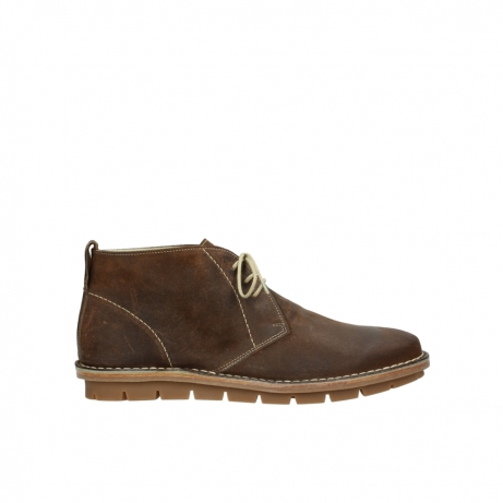 wolky boots 8555 negev 443 cognac veloursleder