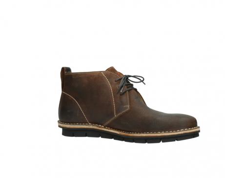 wolky boots 8555 negev 443 cognac veloursleder_15