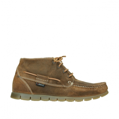 wolky boots 9325 extreme 443 cognac veloursleder