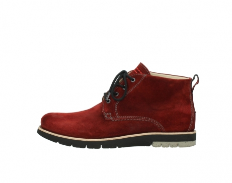 wolky veterboots 9393 brisbane winter 450 rood suede_1