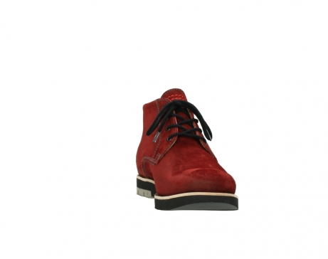 wolky veterboots 9393 brisbane winter 450 rood suede_18