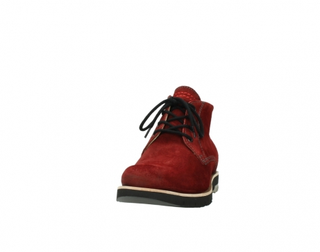 wolky veterboots 9393 brisbane winter 450 rood suede_20