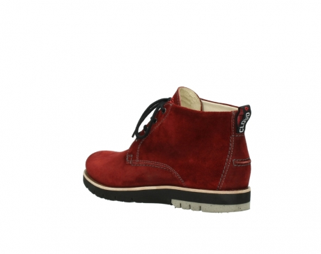 wolky veterboots 9393 brisbane winter 450 rood suede_4