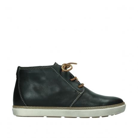 wolky boots 9451 cardiff 200 schwarz leder