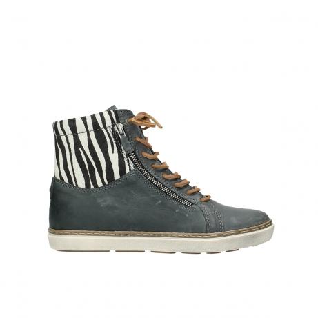 wolky boots 9453 ontario 522 smog zebradruck leder
