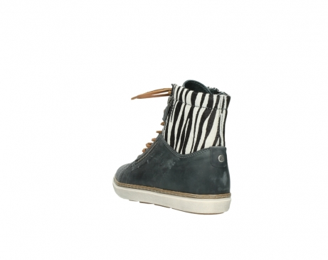 wolky boots 9453 ontario 522 smog zebradruck leder_5