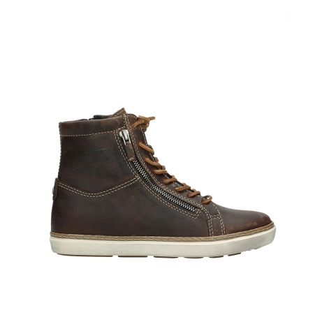 wolky boots 9453 ontario 543 cognac leder