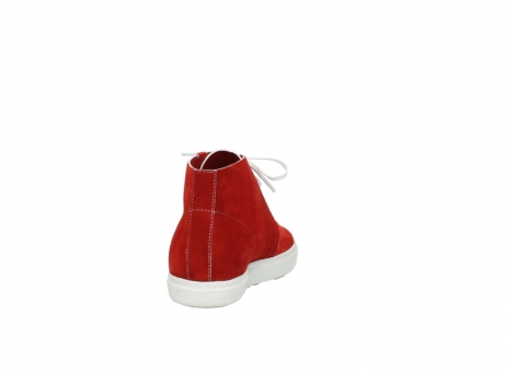wolky veterboots 9460 columbia 450 rood suede_8