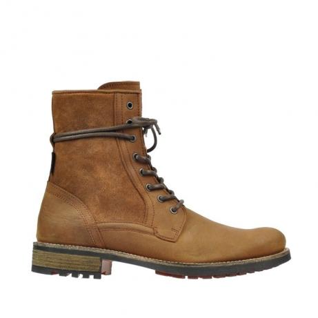 wolky boots 9476 kirkko 543 cognac buffel leder