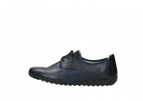 wolky lace up shoes 00126 luzern 81800 blue metallic leather_1
