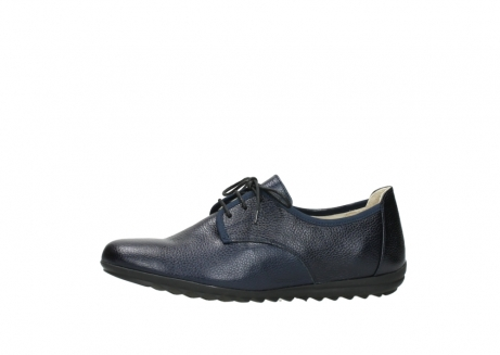 wolky lace up shoes 00126 luzern 81800 blue metallic leather_24