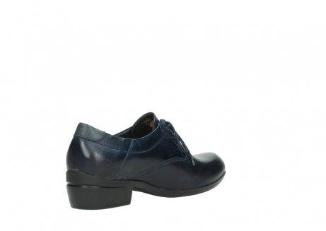 wolky lace up shoes 00958 yuba 30800 blue leather_10