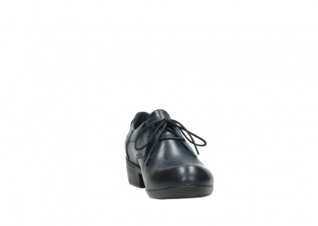 wolky lace up shoes 00958 yuba 30800 blue leather_18
