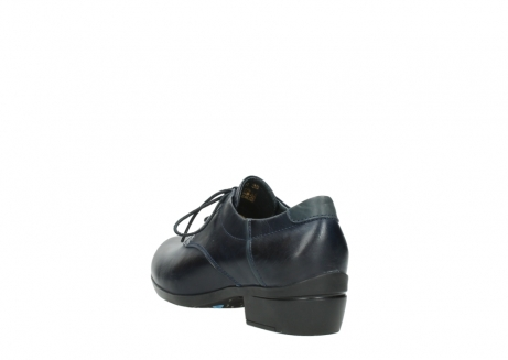 wolky lace up shoes 00958 yuba 30800 blue leather_5