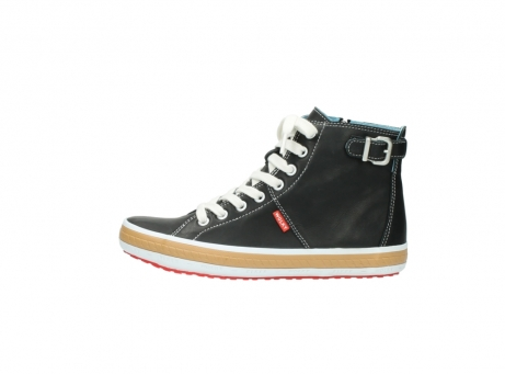 wolky lace up shoes 01225 biker 20000 black leather_1
