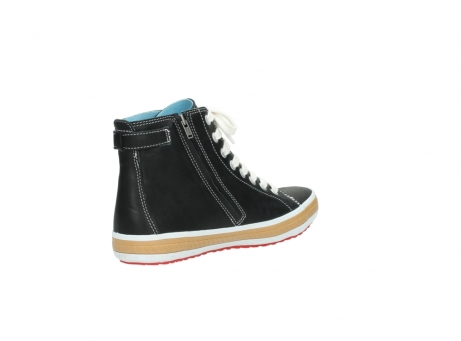 wolky lace up shoes 01225 biker 20000 black leather_10