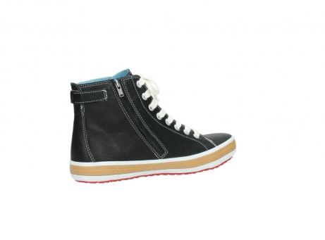 wolky lace up shoes 01225 biker 20000 black leather_11